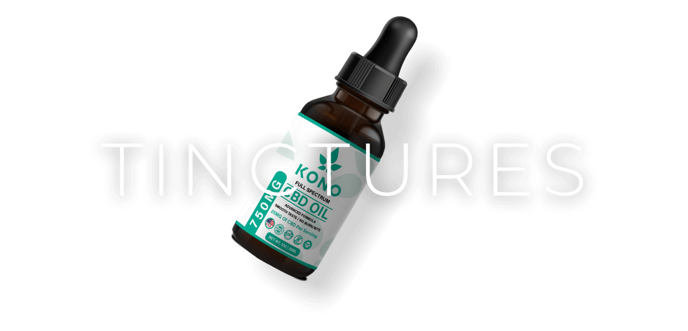 cbd tinctures category background